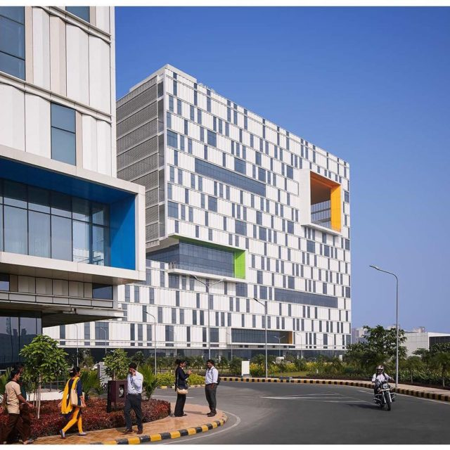 Tata Consulting Services Campus Kolkata  India yazdanistudio cannondesign indianarchitecture