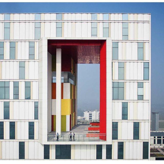 Tata Consulting Services campus Kolkata India yazdanistudio cannondesign indianarchitecture modernarchitecturehellip