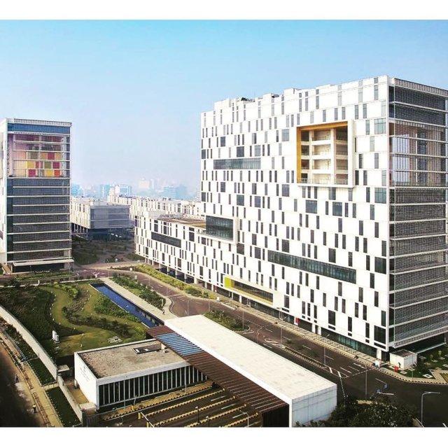 Tara Consulting Services campus Kolkata India yazdanistudio cannondesign modernofficebuilding indianarchitecturehellip