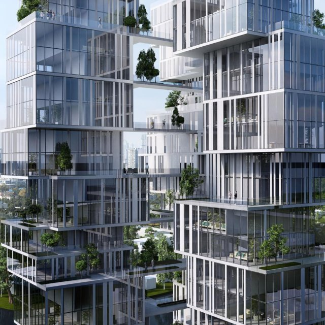 Residential Tower Chengdu China yazdanistudio cannondesign laarchitects towerdesigns chinesetowers