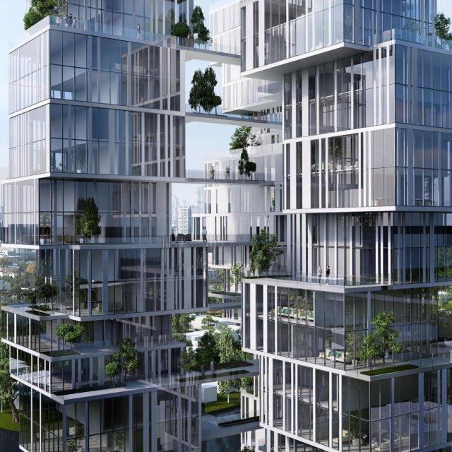 Residential Tower Chengdu China yazdanistudio cannondesign laarchitects towerdesigns chinesetowers