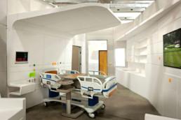 UCSD Solid Surface Headwall, Yazdani Studio, Mehrdad Yazdani