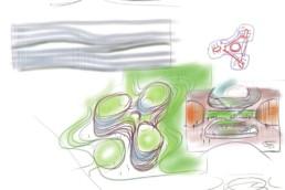 CJ Blossom Park, Mehrdad Yazdani, Yazdani Studio