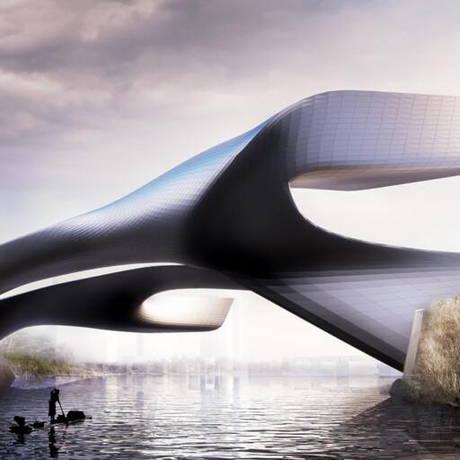 Luxelake Bridge, Mehrdad Yazdani, Yazdani Studio
