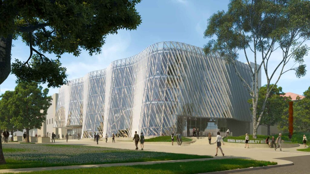 Architect's Newspaper Unveils Design for Caltech's Resnick Sustainability Resource Center