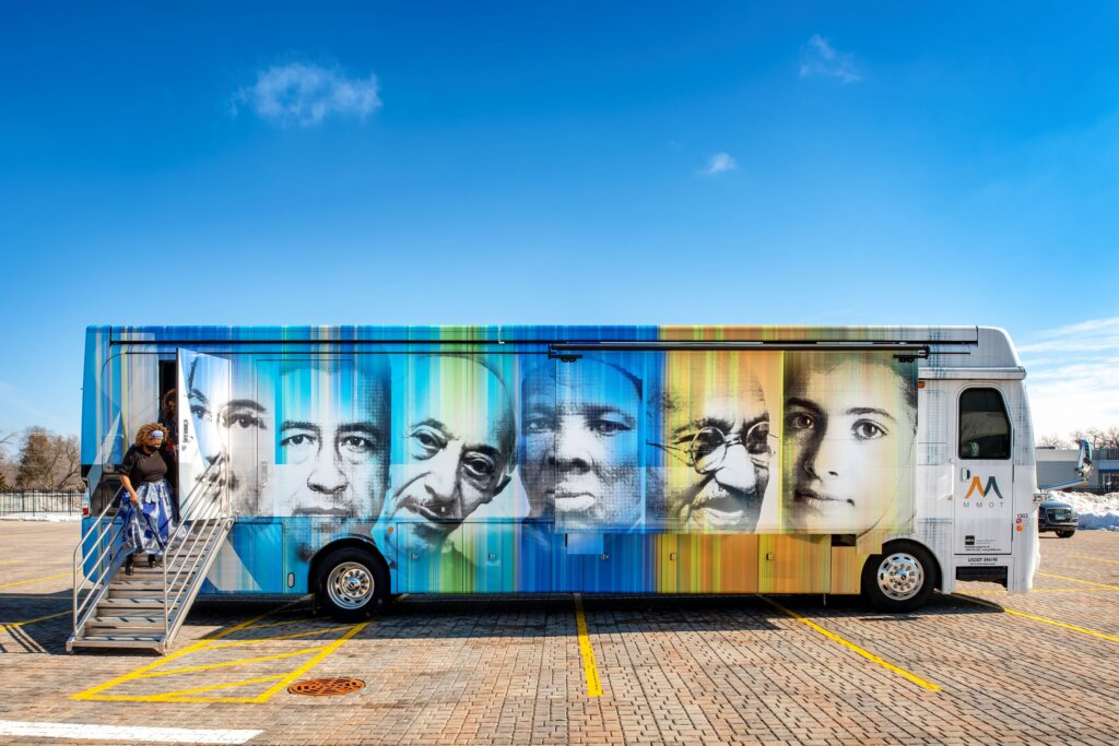 Architect's Newspaper Publishes Our Mobile Museum of Tolerance